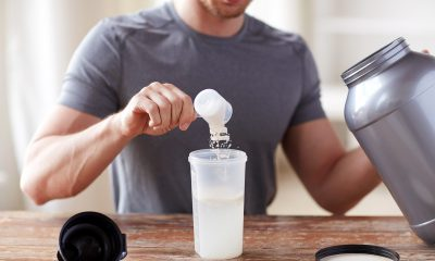 Making a protein shake
