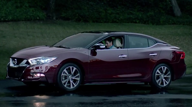 2016 Nissan Maxima Revealed At The End Of Super Bowl Commercial