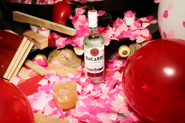 Bacardi Red Rum cocktail
