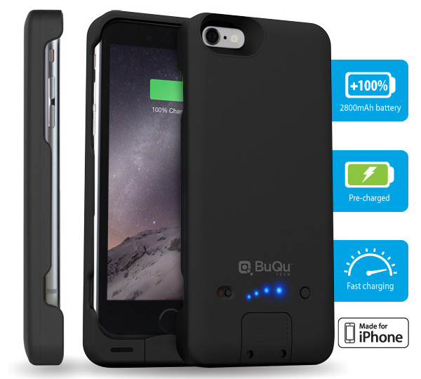 BuQu PowerArmour Battery Case for iPhone 6