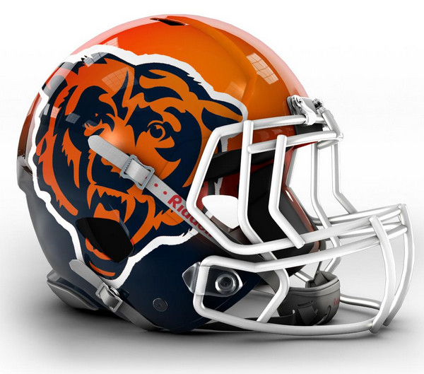 Chicago-Bears-Concept-Helmet