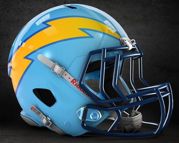 Futuristic NFL Helmet