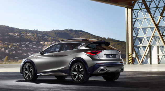 Infiniti Releases First Pictures Of Stylish Infiniti QX30 Concept