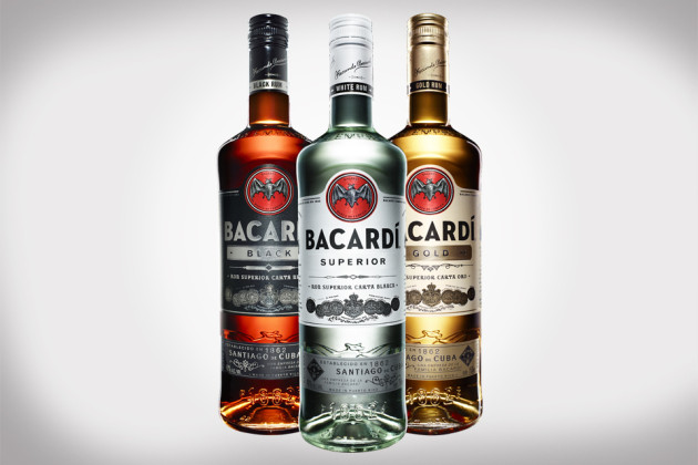 New Bacardi Rum Bottles