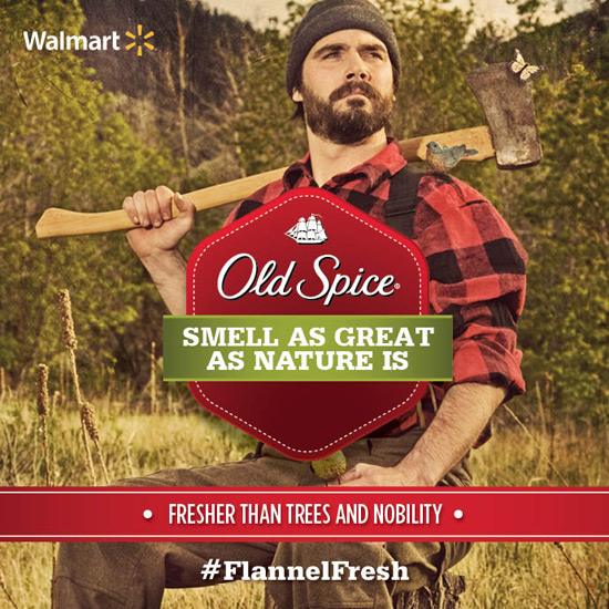Old Spice - Flannel Fresh