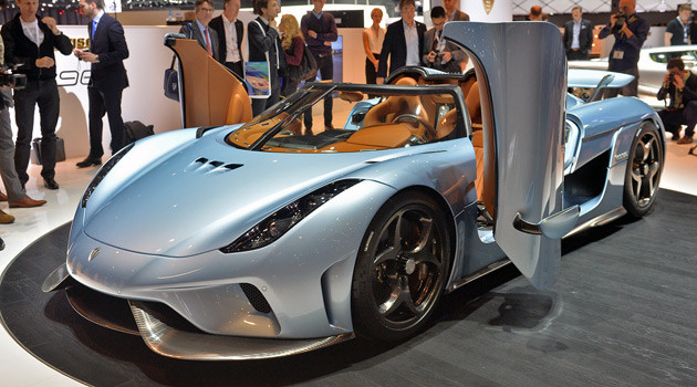 The 1500HP Koenigsegg Regera Was The Clear Winner In Geneva