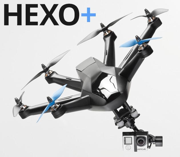 Hexo+ Autonomous Flying Camera