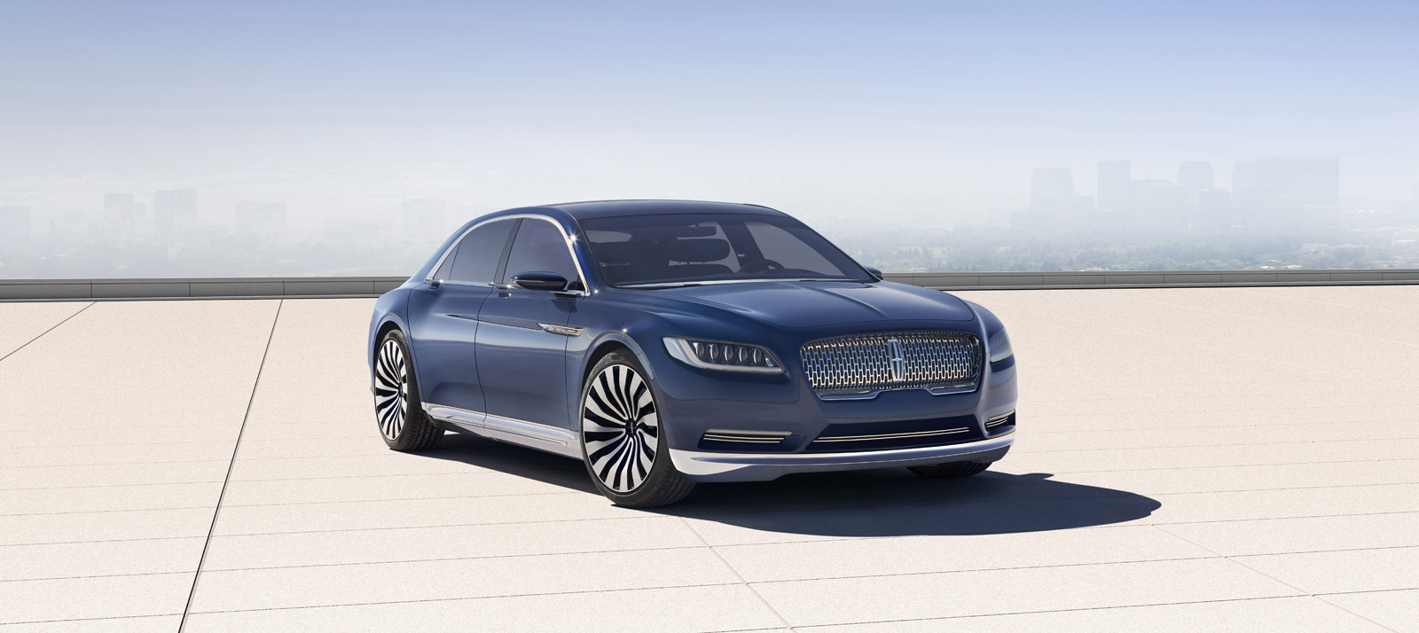 lincoln continental concept debuts ahead of new york auto show. Black Bedroom Furniture Sets. Home Design Ideas