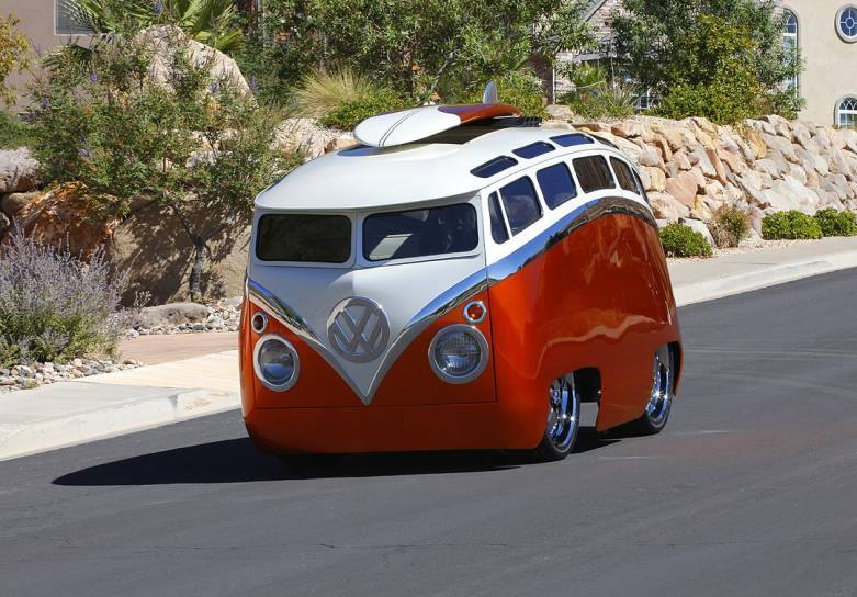 A Look At Ron Berry's Custom '65 VW Bus, The Aptly Named ...