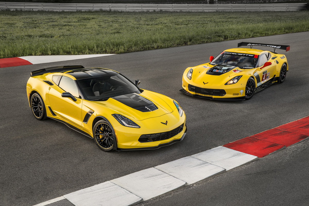 chevrolet introduces 2016 corvette z06 c7 r edition. Black Bedroom Furniture Sets. Home Design Ideas