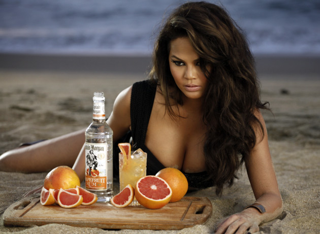 Chrissy Teigen - Captain Morgan