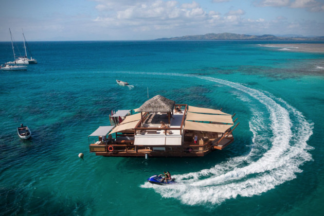 Cloud 9 Floating Bar in Fiji