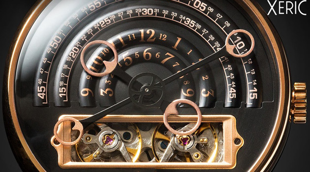The Xeric Halograph Automatic Is A Unique Mechanical Timepiece