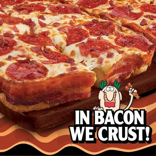 Little Caesars Bacon Crust