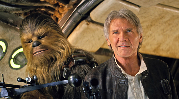 Star Wars: The Force Awakens - Han Solo and Chewbacca