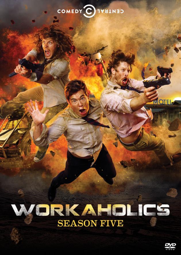 Workaholics Season 5 on Blu-ray and DVD