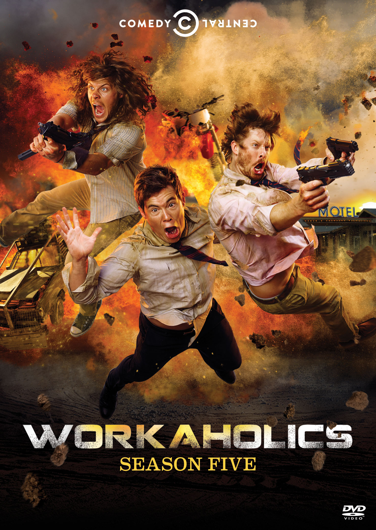 Workaholics Season 5 on Blu-ray and DVD