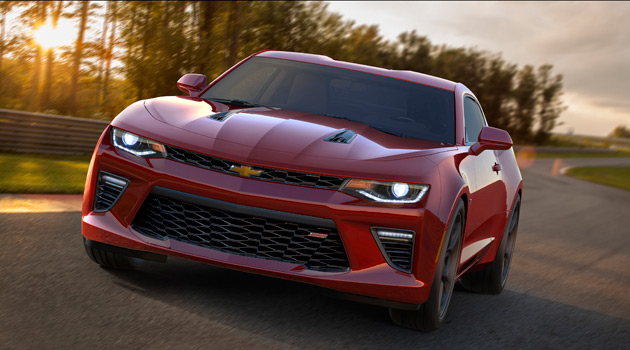 Introducing The 2016 Chevrolet Camaro