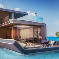 Floating Seahorse Boats Offer Partially Submerged Living In Dubai