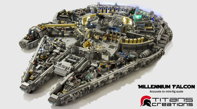Feast Your Eyes On This 10,000-Piece LEGO Millennium Falcon