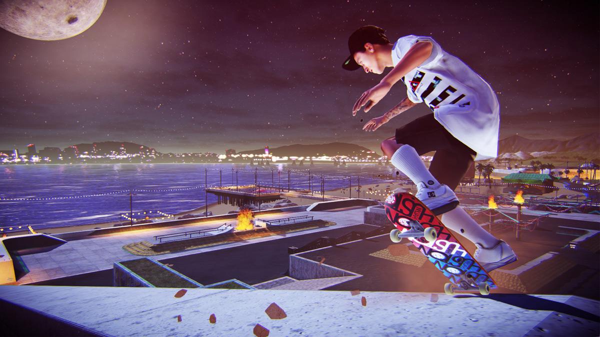 Tony Hawk's Pro Skater 5 - Beach_Nyjah_NoseBluntSlide