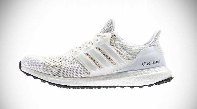 all-white adidas Ultra Boost