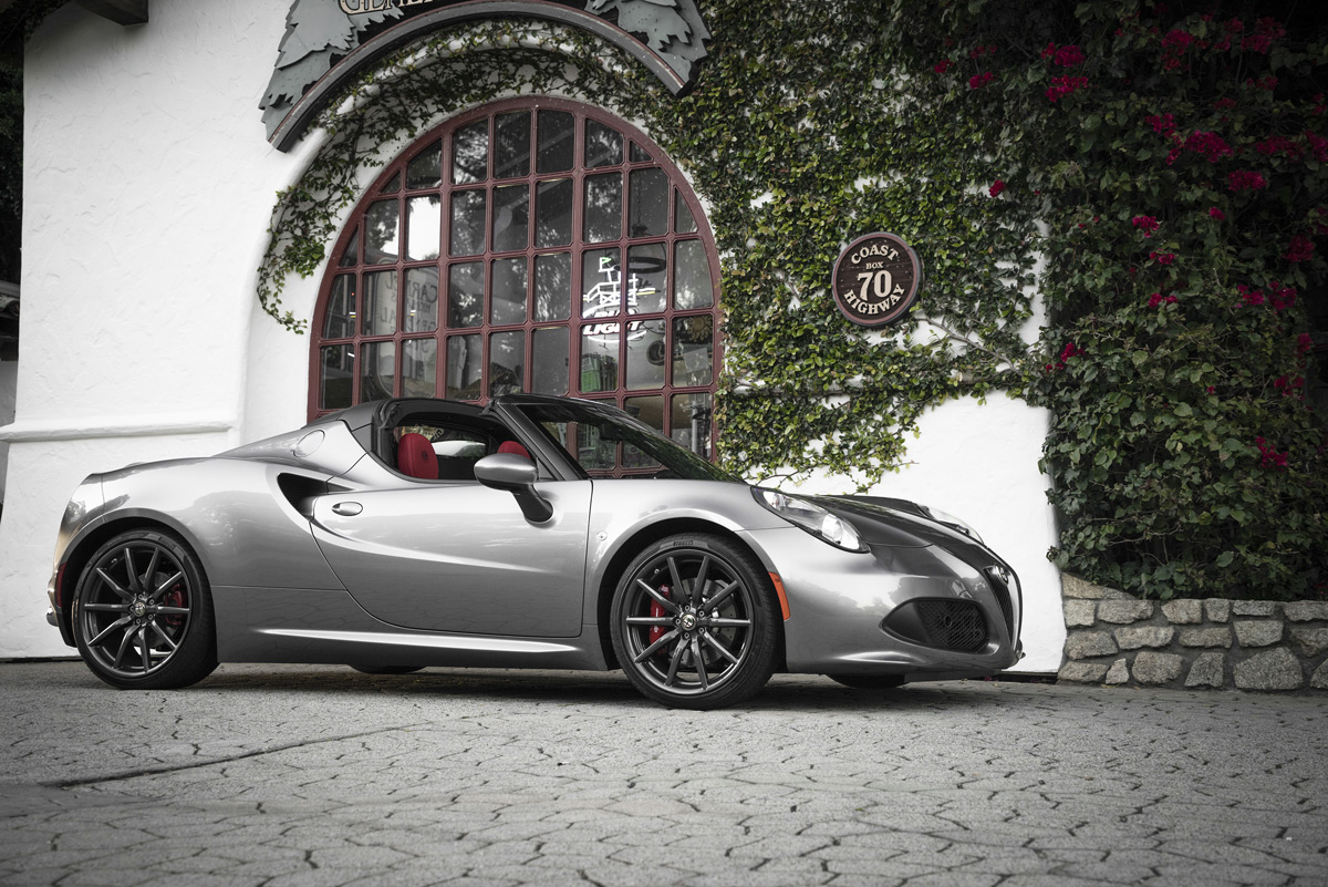 the alfa romeo 4c spider is a street legal race car. Black Bedroom Furniture Sets. Home Design Ideas