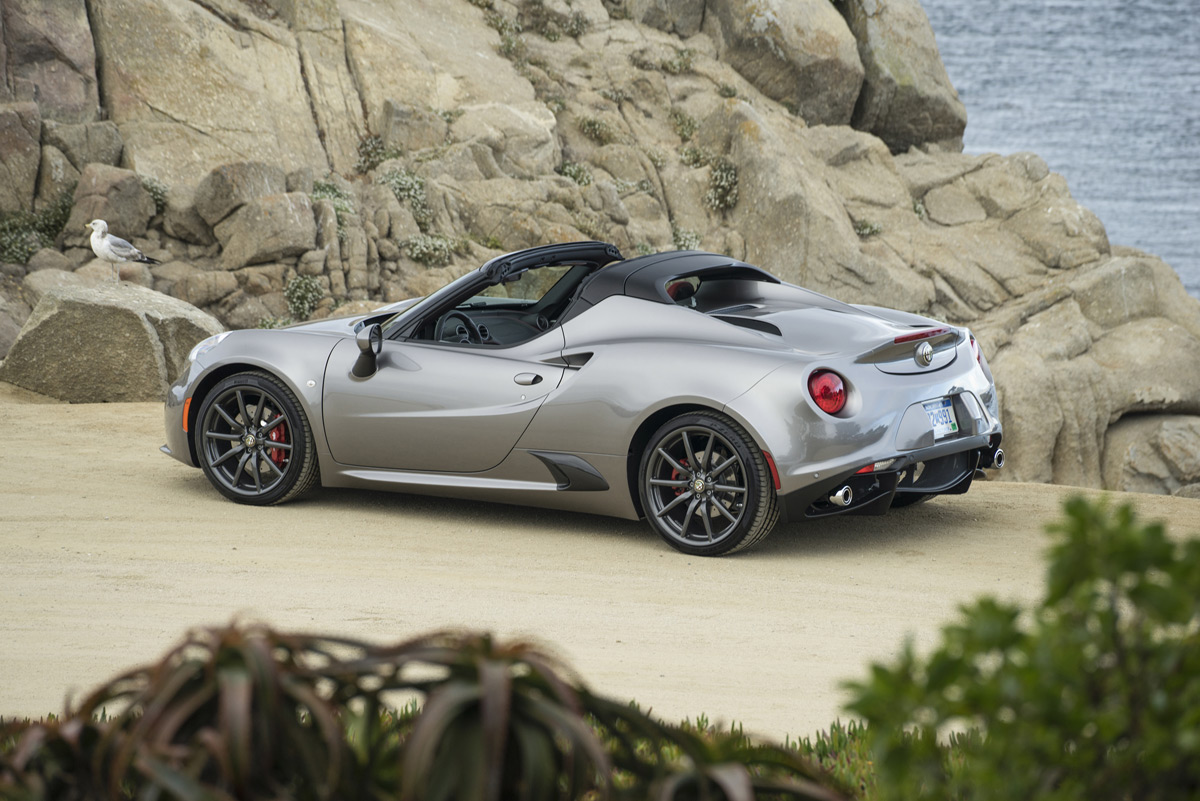 alfa romeo announces pricing of 4c spider. Black Bedroom Furniture Sets. Home Design Ideas