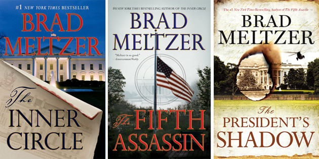 Enter To Win A Brad Meltzer Prize Pack