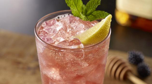 Jack & Honey Blackberry Lemonade