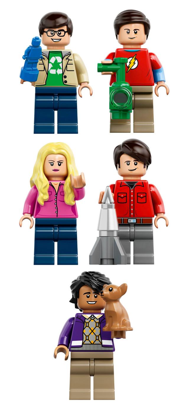 TheBigBangTheory-LEGOCharacters