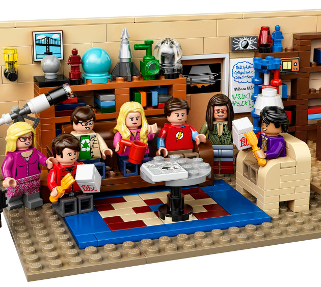 TheBigBangTheory-LEGOLivingRoom