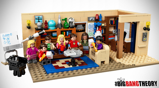 The Big Bang Theory LEGO Set Will Have You Yelling 'Bazinga!'