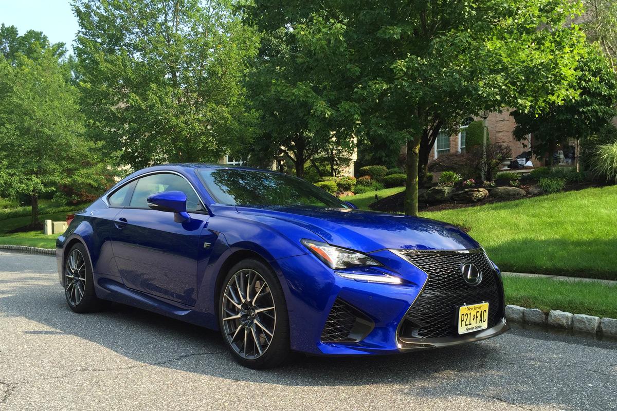 2015 Lexus RC-F review