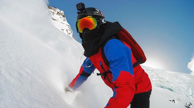GoPro HERO4 Session - Skiing