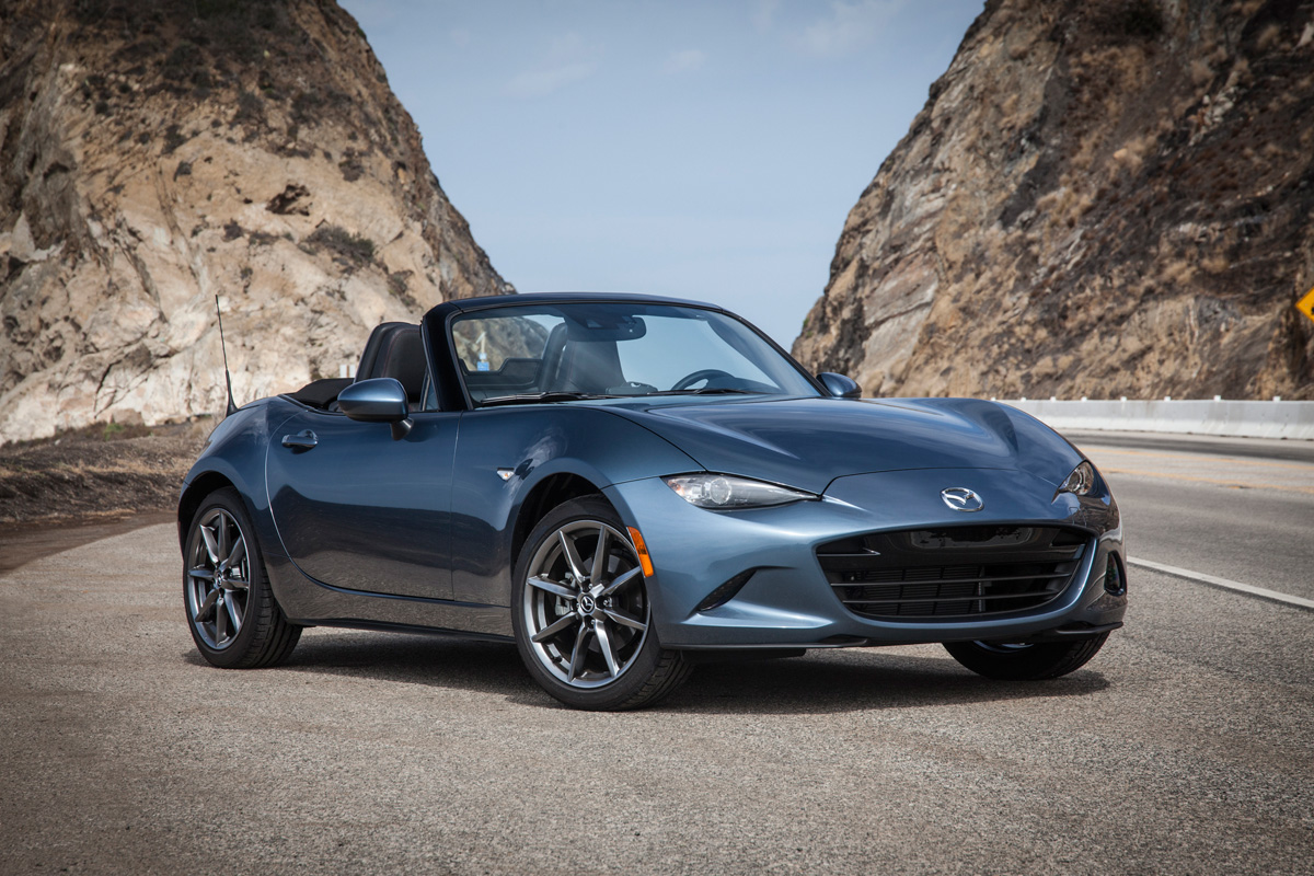 first drive 2016 mazda mx 5 miata. Black Bedroom Furniture Sets. Home Design Ideas