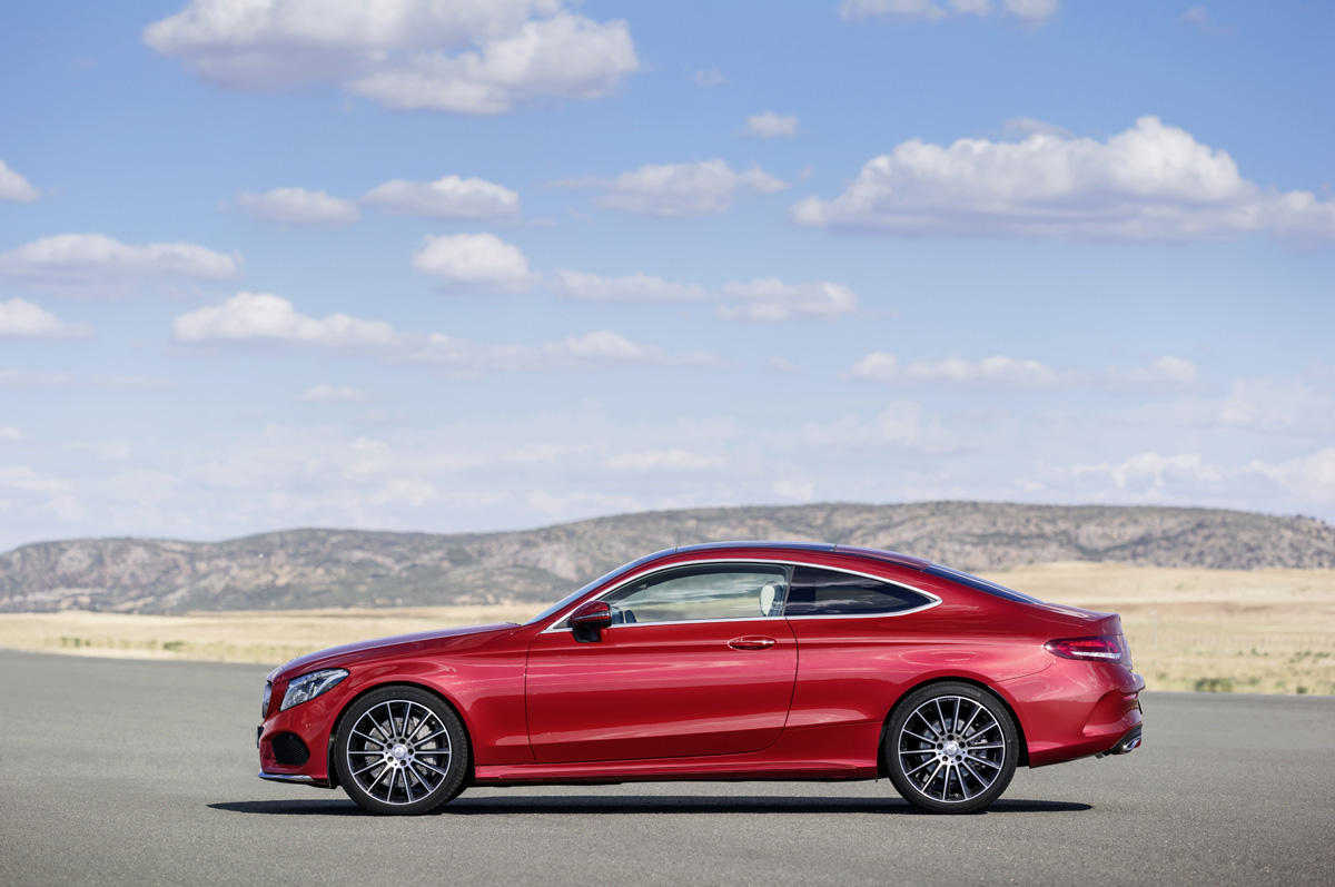 the 2017 mercedes c class coupe is an absolute stunner. Black Bedroom Furniture Sets. Home Design Ideas