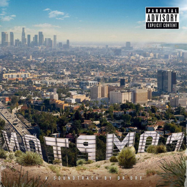 Compton: A Soundtrack By Dr. Dre Cover