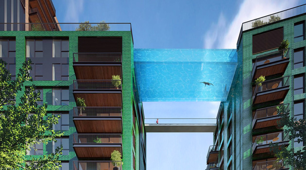 World's First 'Sky Pool' Will Let You Swim Through The Air