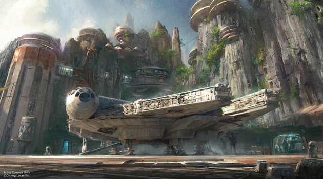 Star Wars-Themed Lands Coming To Disney World and Disneyland