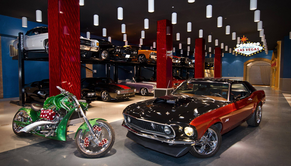 5 crazy garages you need to see to believe for Chicago motor cars las vegas nv