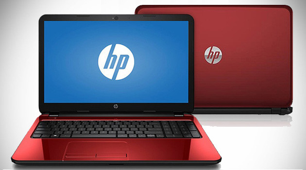 "HP Flyer Red 15"" Laptop"