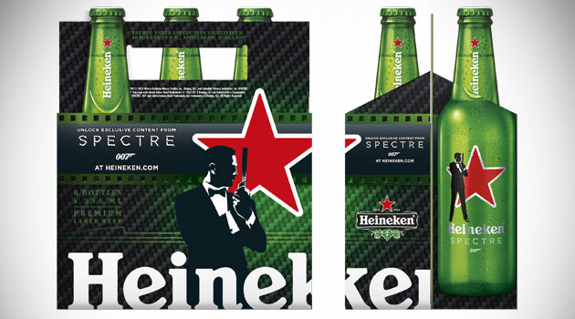 Heineken Spectre Bottles