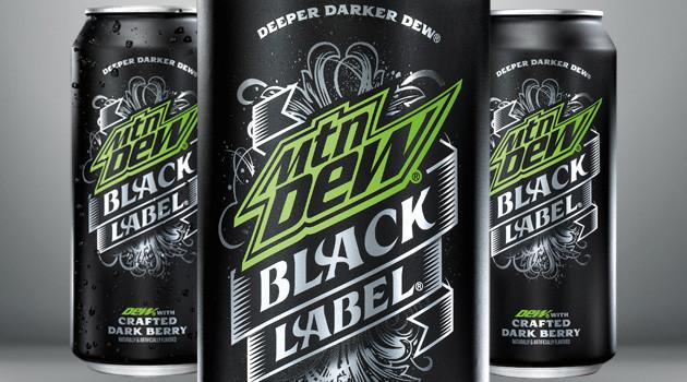Mtn Dew Black Label