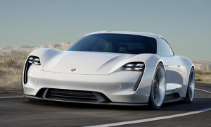The Porsche Mission E Concept Is A 600HP, All-Electric Tesla Fighter