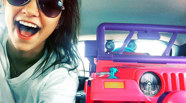 Texas Student Drives Barbie Jeep Around Campus After Getting DWI