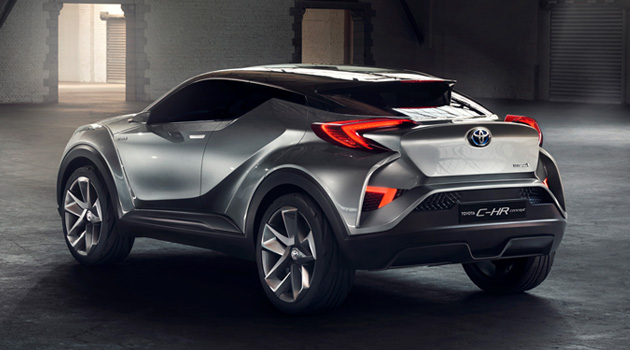 Toyota C-HR Concept Gets One Step Closer To Production