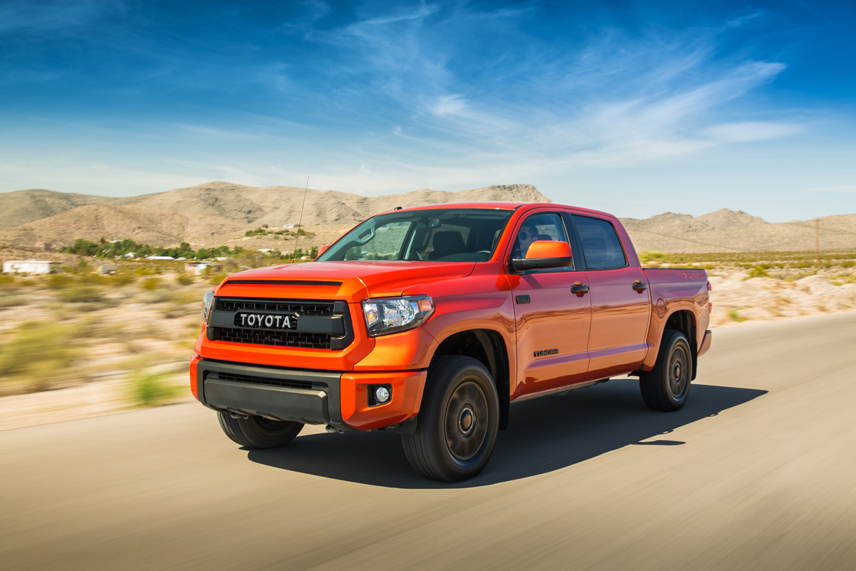 The Toyota Tundra Trd Pro Is An Off Road Inferno