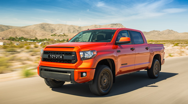 The Toyota Tundra TRD Pro Is An Off-Road Inferno
