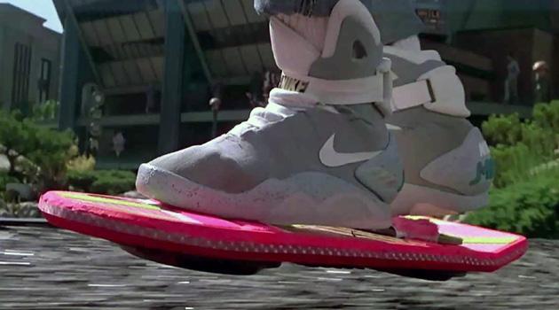 Michael J Fox Models Self Lacing Nike Mag